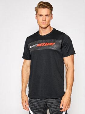 Nike Nike Techniniai marškinėliai Dri-FIT Superset Sport Clash CZ1496 Juoda Standard Fit