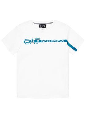 EA7 Emporio Armani EA7 Emporio Armani Póló 3KBT58 BJ02Z Fehér Regular Fit