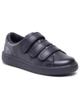 Clarks Clarks Sneakersy Street Swift K 261494026 Černá