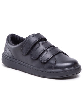Clarks Clarks Sneakersy Street Swift K 261494026 Čierna