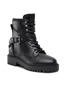 Guess Guess Outdoorová obuv FL8OND LEA10 Čierna