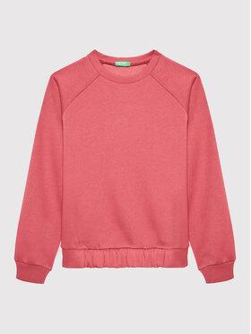 United Colors Of Benetton United Colors Of Benetton Μπλούζα 3J73C15FN Ροζ Regular Fit