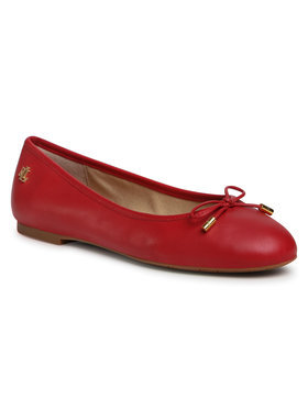 Lauren Ralph Lauren Lauren Ralph Lauren Ballerines Jayna 802806870004 Rouge