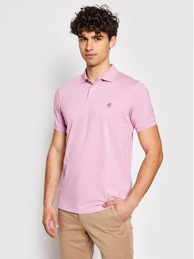 Marc O'Polo Marc O'Polo Polohemd 123 2230 53002 Rosa Regular Fit