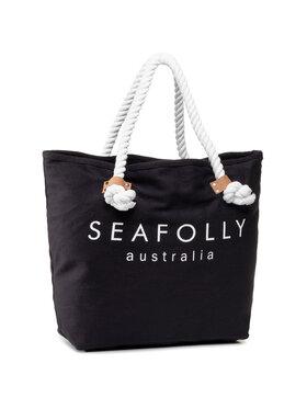 Seafolly Seafolly Borsa Beach Basics 71147-BG Blu scuro