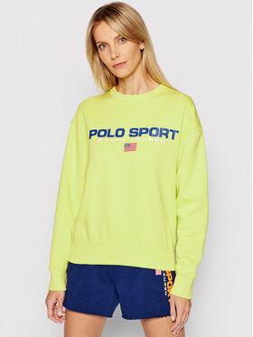 Polo Ralph Lauren Polo Ralph Lauren Majica dugih rukava Lsl 211838080006 Zelena Regular Fit