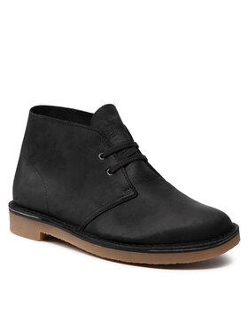 Clarks Clarks Šnurovacia obuv Bushacre 3 261535297 Čierna