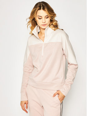 Under Armour Under Armour Bluza Ua Recover Knit ½ Zip 1351898 Różowy Loose Fit