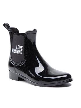 LOVE MOSCHINO LOVE MOSCHINO Cizme de cauciuc JA21173G1DIR3000 Negru