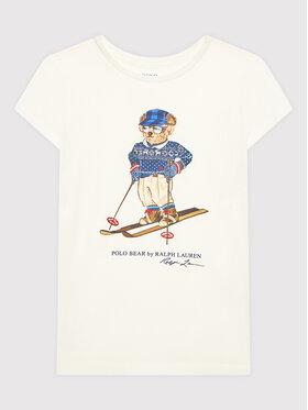 Polo Ralph Lauren Polo Ralph Lauren T-Shirt Cortina 313853435001 Beżowy Regular Fit