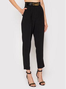 Elisabetta Franchi Elisabetta Franchi Spodnie materiałowe PA-391-16E2-V280 Czarny Regular Fit