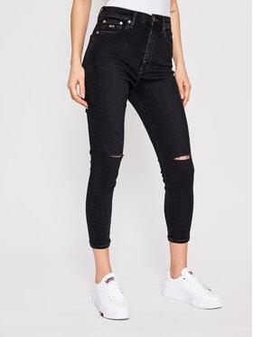 Tommy Jeans Tommy Jeans Džinsai Sylvia DW0DW09891 Juoda Super Skinny Fit