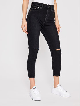 Tommy Jeans Tommy Jeans Τζιν Sylvia DW0DW09891 Μαύρο Super Skinny Fit