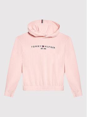 Tommy Hilfiger Tommy Hilfiger Bluza Essential KG0KG05674 M Różowy Regular Fit