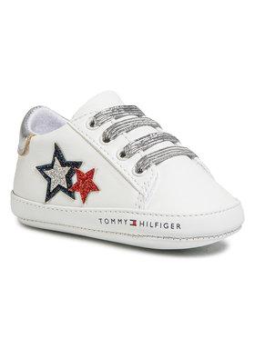 Tommy Hilfiger Tommy Hilfiger Κλειστά παπούτσια Lace Up T0A4-30594-0886 Λευκό