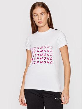 John Richmond John Richmond T-shirt Worland UWA21018TS Bianco Regular Fit