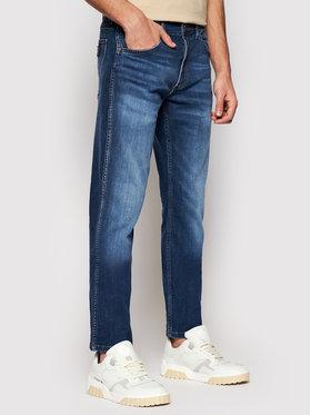 Wrangler Wrangler Jeans Greensboro W15QE280W Dunkelblau Regular Fit