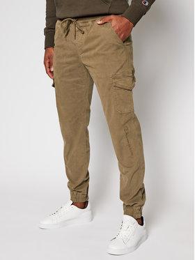 Champion Champion Spodnie materiałowe 215194 Brązowy Custom Fit