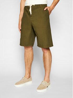 Imperial Imperial Pantaloncini di tessuto D212BJWTD Verde Regular Fit