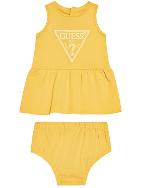 Guess Guess Každodenné šaty A01K15 K82F0 Žltá Regular Fit