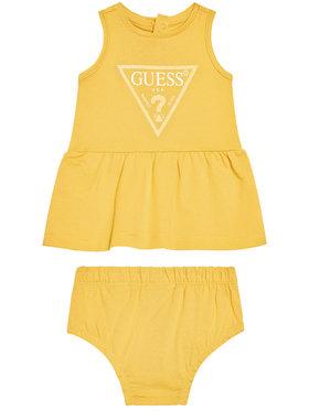 Guess Guess Robe de jour A01K15 K82F0 Jaune Regular Fit