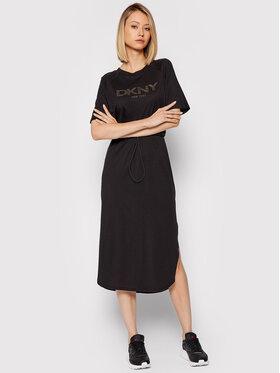 DKNY DKNY Ежедневна рокля P1FTCEGQ Черен Regular Fit