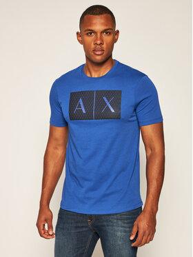 Armani Exchange Armani Exchange T-Shirt 8NZTCK Z8H4Z 1506 Dunkelblau Slim Fit