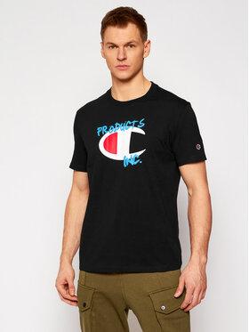 Champion Champion T-shirt Crewneck 214344 Noir Comfort Fit
