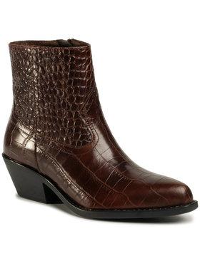 Gino Rossi Gino Rossi Členková obuv N577 Hnedá