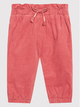 United Colors Of Benetton United Colors Of Benetton Текстилни панталони 4AD3557YE Розов Relaxed Fit