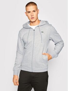Lacoste Lacoste Bluza SH1551 Szary Regular Fit