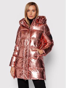 Pinko Pinko Pernata jakna Illica Imbottito 1G16FB Y76P Ružičasta Regular Fit