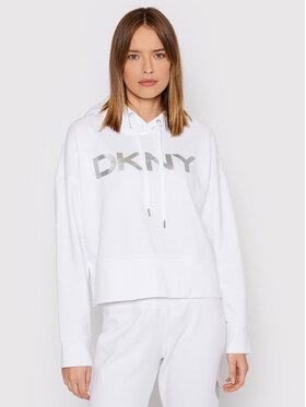 DKNY Sport DKNY Sport Bluza DP1T7970 Biały Regular Fit