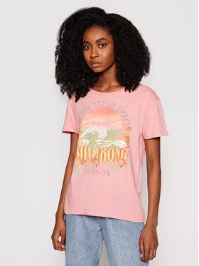 Billabong Billabong T-Shirt Day Dream Away W3SS12 BIP1 Różowy Regular Fit