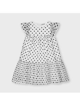 Mayoral Mayoral Kleid für den Alltag 3927 Weiß Regular Fit