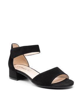 Caprice Caprice Sandále 9-28212-26 Čierna
