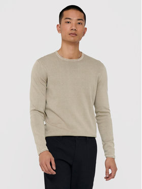 Only & Sons ONLY & SONS Pullover Garson Life 22006806 Beige Regular Fit