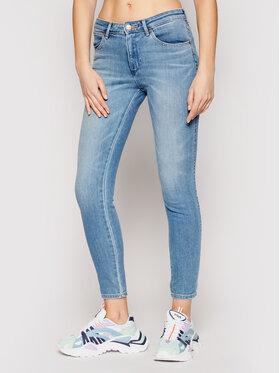 Wrangler Wrangler Jeans Body Bespoke W28KZM29B Blau Skinny Fit