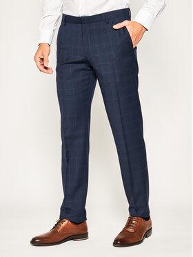 Tommy Hilfiger Tailored Tommy Hilfiger Tailored Společenské kalhoty Check Separate TT0TT06717 Tmavomodrá Regular Fit