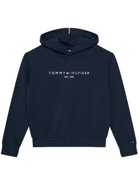 TOMMY HILFIGER TOMMY HILFIGER Mikina Essential KG0KG05216 M Tmavomodrá Regular Fit