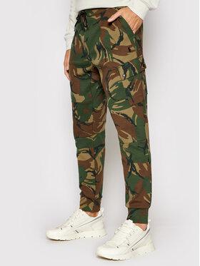 Polo Ralph Lauren Polo Ralph Lauren Teplákové kalhoty 710849531001 Zelená Regular Fit