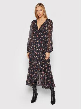 Guess Guess Sukienka letnia Darcelle W1BK71 WDW52 Czarny Regular Fit