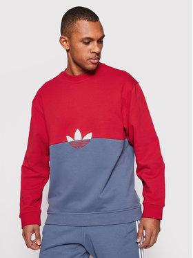 adidas adidas Bluză Slice Trf Crew GN3448 Colorat Regular Fit