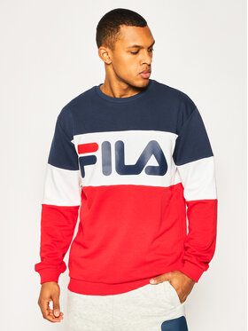 Fila Fila Bluză Blocked Crew 688050 Colorat Regular Fit