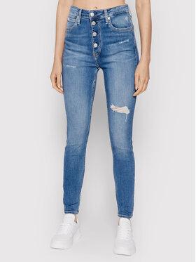 Calvin Klein Jeans Calvin Klein Jeans Jeansy J20J216486 Niebieski Skinny Fit