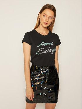 Armani Exchange Armani Exchange Marškinėliai 6HYTAP YJ73Z 1200 Juoda Slim Fit