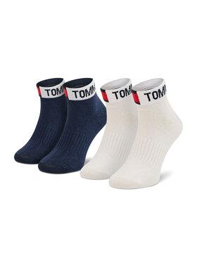 Tommy Hilfiger Tommy Hilfiger Sada 2 párů dětských nízkých ponožek 701210519 Tmavomodrá