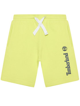 Timberland Timberland Sportske kratke hlače T24B31 S Žuta Regular Fit