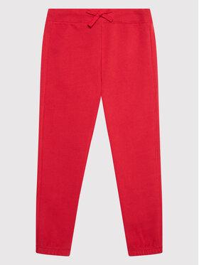 United Colors Of Benetton United Colors Of Benetton Spodnie dresowe 3EB5I0023 Czerwony Regular Fit