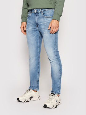 Calvin Klein Jeans Calvin Klein Jeans Jeansy J30J318246 Niebieski Slim Fit